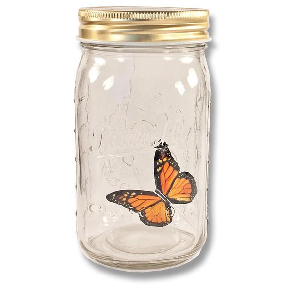 Выглядит как настоящая бабочка